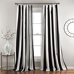 Lush Decor Wilbur 2-Pack Room Darkening Curtain Panel
