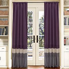 Lush Decor Mia Curtain Panel