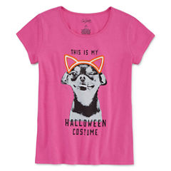 City Streets SS Halloween Tee - Girls' 4-16 & Plus