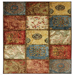 Mohawk Home Freeflow Artifact Panel Printed Square Rugs