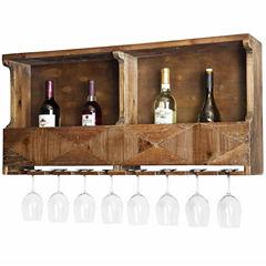 Revive Reclaimed Wood Wine Rack