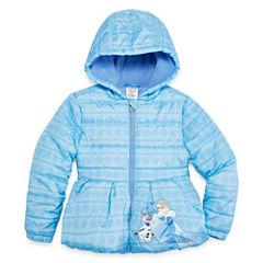 Disney Frozen Lightweight Puffer Jacket - Girls-Big Kid