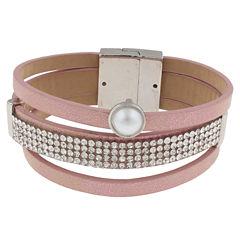 Decree Womens Wrap Bracelet