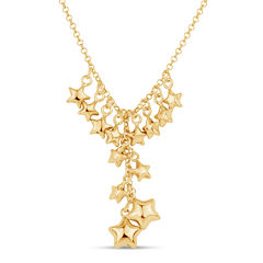 Made In Italy Womens 18K Y Necklace