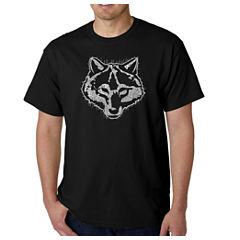 Los Angeles Pop Art Cub Scout Logo Graphic T-Shirt