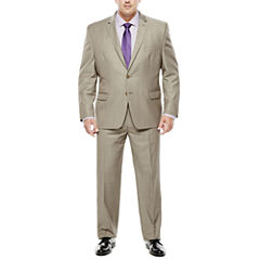 Collection by Michael Strahan Taupe Suit Separates - Big & Tall