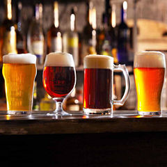 Set of 4 Beer Tasting Glasses