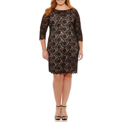 Tiana b black dress maternity