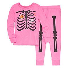 City Streets 2-pc. Pant Pajama Set Girls