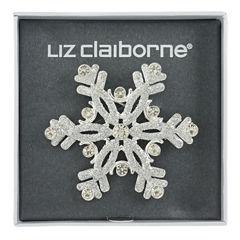 Liz Claiborne Clear Pin