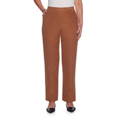 Alfred Dunner Jungle Habitat Faux Suede Pull-On Pants