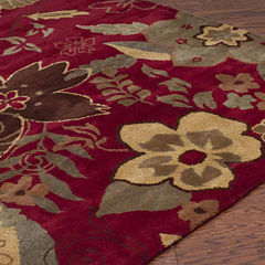 Rizzy Home Pandora Collection Hand Tufted WilliamGeometric Rug