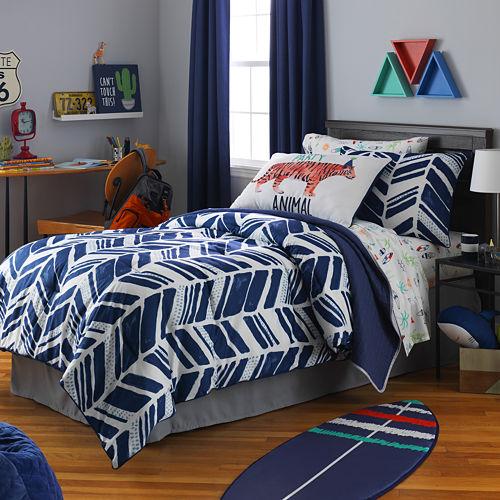 Frank And Lulu Shane Stripes Comforter Set
