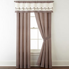 Home Expressions Lavendar 2-pack Curtain Panels