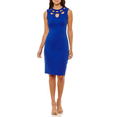 Rebecca B Sleeveless Sheath Dress