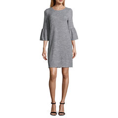 a.n.a Bell Sleeve Sweater Dress