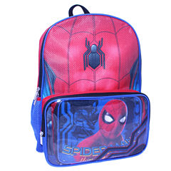 Spiderman Backpack wtih Lunch Kit