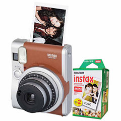 Fujifilm Instax Mini 90 Neo Classic Instant Photo Camera Bundle