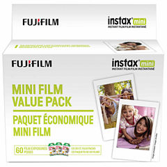 Fujifilm Instax Mini Instant Film Value Pack - 60 Exposures
