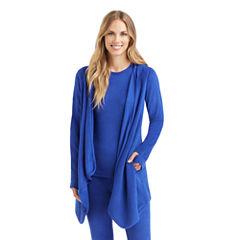 Cuddl Duds® Fleecewear Long-Sleeve Hoodie Wrap