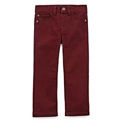 Arizona Boys Straight-Leg Stretch Denim - Toddler 2T-5T
