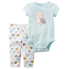 Carter's 2-pc. Hearts Pant Set Baby Girls
