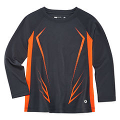 Xersion Long Sleeve Crew Neck T-Shirt-Preschool Boys