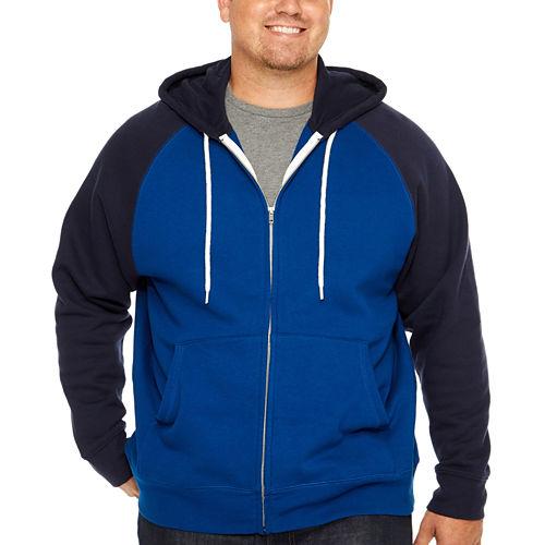The Foundry Big & Tall Supply Co. Long Sleeve Fleece Hoodie-Big and Tall