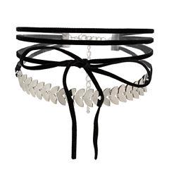 Worthington Womens Choker Necklace