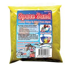 Dunecraft Space Sand 1 lb Yellow