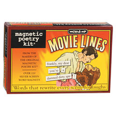 Magnetic Poetry Magnetic Poetry Kit: Mixed Up Movie Lines