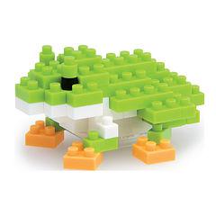 Ohio Art nanoblock?? Animals Level 2 - Green TreeFrog: 80 Pcs