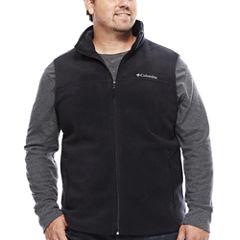 Columbia® Flattop Ridge Fleece Vest - Big & Tall