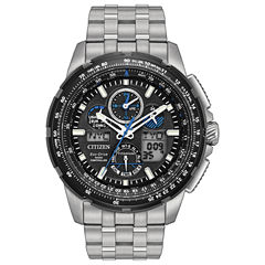Citizen Mens Silver Tone Bracelet Watch-Jy8068-56e