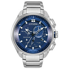 Citizen Mens Silver Tone Bracelet Watch-Bz1021-54l