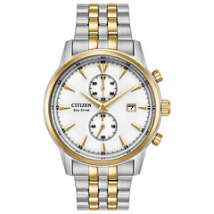 Citizen Mens Two Tone Bracelet Watch-Ca7004-54a