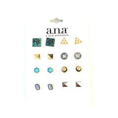 a.n.a 10 Pair Earring Sets