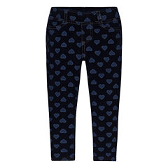 Levi's Haley May Knit Legging Hearts Knit Leggings - Toddler Girls