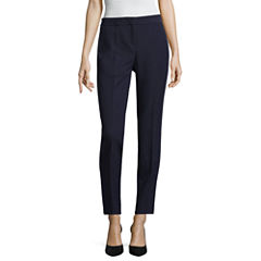 Worthington Curvy Fit Luxe Stretch Slim Leg Pants