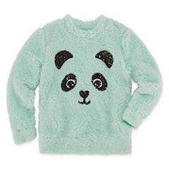 Total Girl Long Sleeve Sherpa Pullover - Girls' 7-16 & Plus