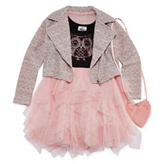 Knit Works Jacket Dress Preschool Girls