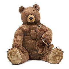 Melissa & Doug® Brown Bear and Cub - Plush