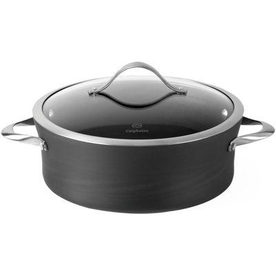 calphalon 5qt nonstick covered saucier pan