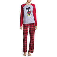 Disney Minnie Mouse Pajama Set- Women's