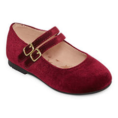 Christie & Jill Emani Girls Ballet Flats - Toddler