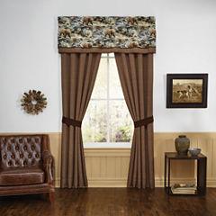 Croscill Classics Kodiak Rod-Pocket Curtain Panel