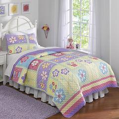 Laura Hart Kids Sweet Helena Floral Quilt Set