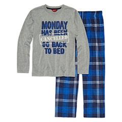 Arizona 2-pc. Monday's Pajama Set Boys