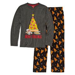 Arizona Husky 2 pc Merry Christmas Pajama Set - Boys
