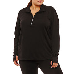 Xersion Quarter-Zip Pullover Plus
